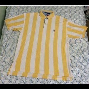 Vintage Tommy Hilfiger Vertical Striped Crest Logo